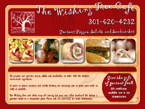 The Wishing Tree - Web Design