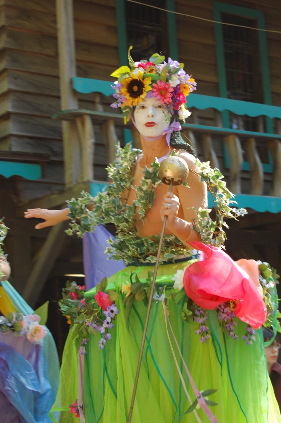 Maryland Rennaissance Festival Stiltwalker