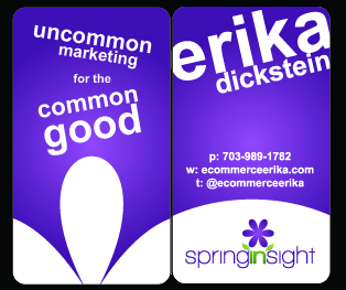 Spring Insight Business Cards