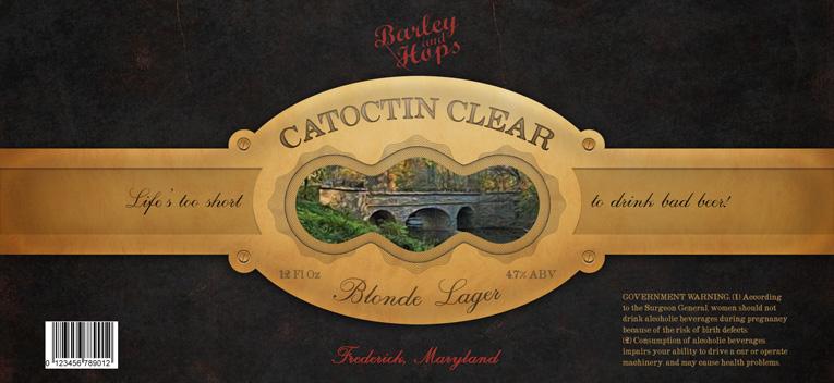 Catoctin Clear Label
