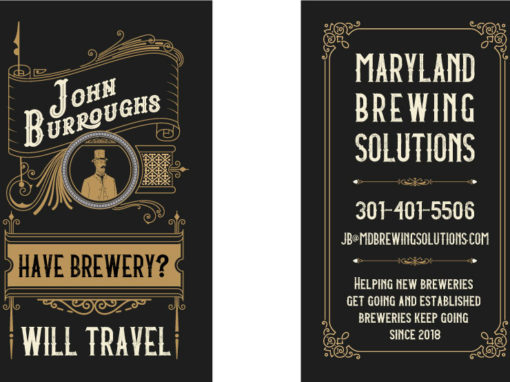 John Burroughs Business Cards